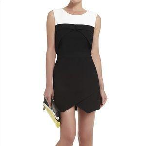 BCBGMAXAZRIA Annisa Asymmetrical-Hem Dress